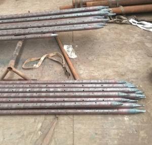 天津大无缝钢管厂|天津钢管Φ50注浆管